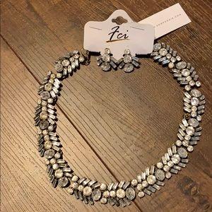 Jewelry - NWT Shop Sosie statement necklace & earrings set